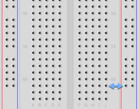 Inline Hole Pattern