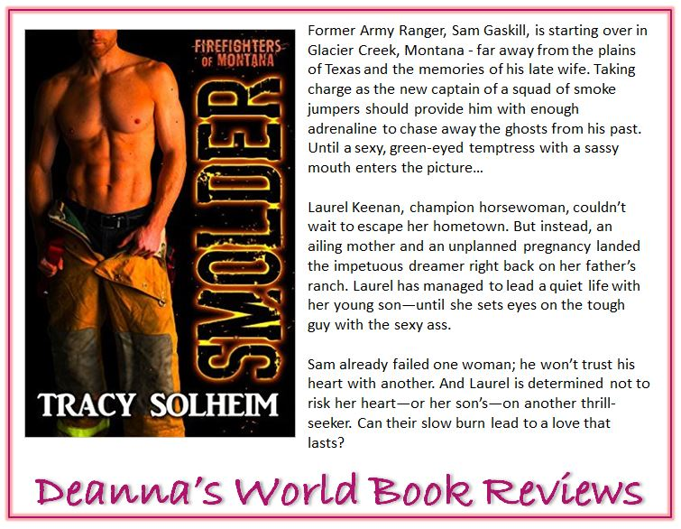 Smolder by Tracy Solheim blurb