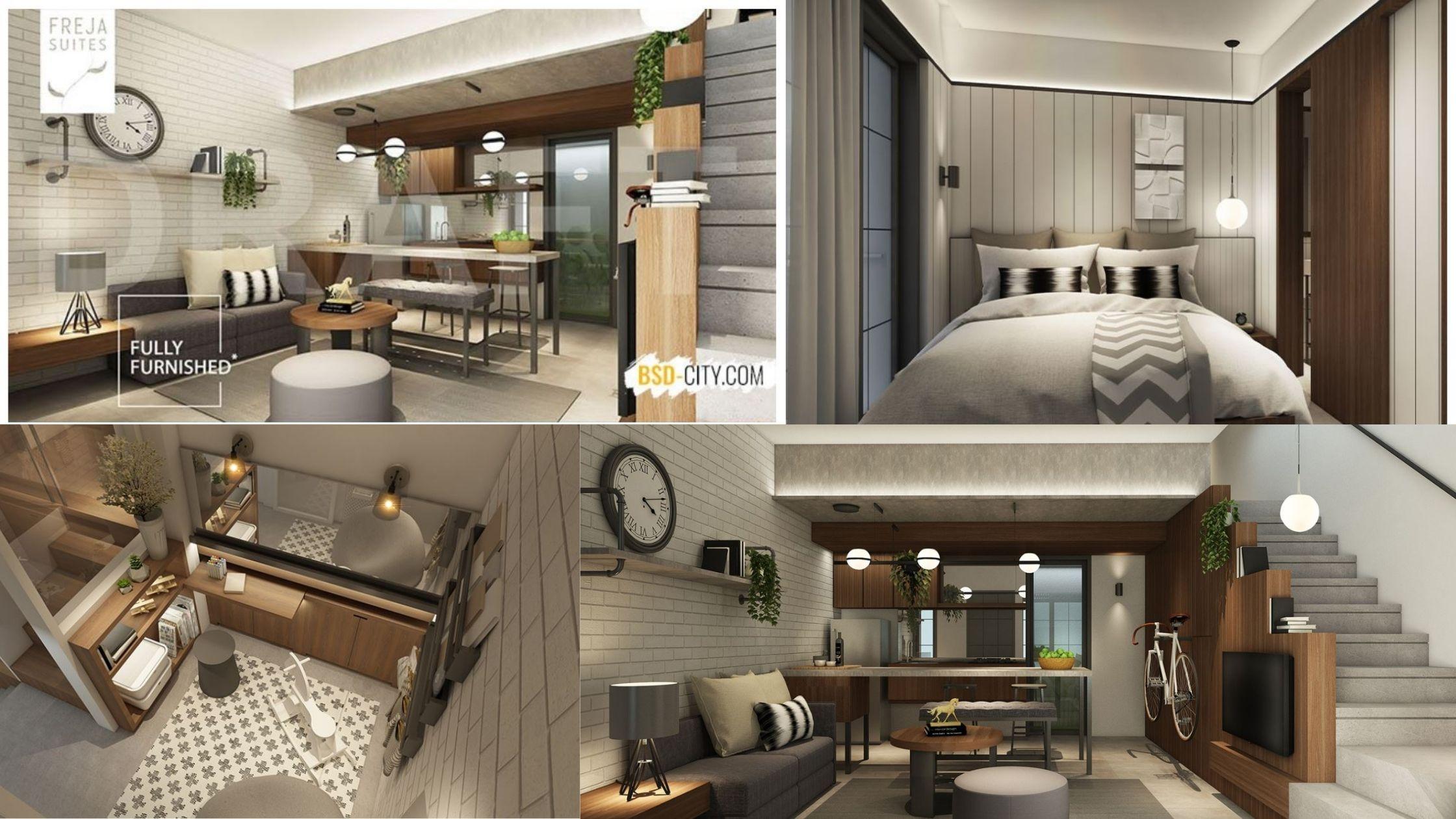Fully Interior di Freja Suites BSD City