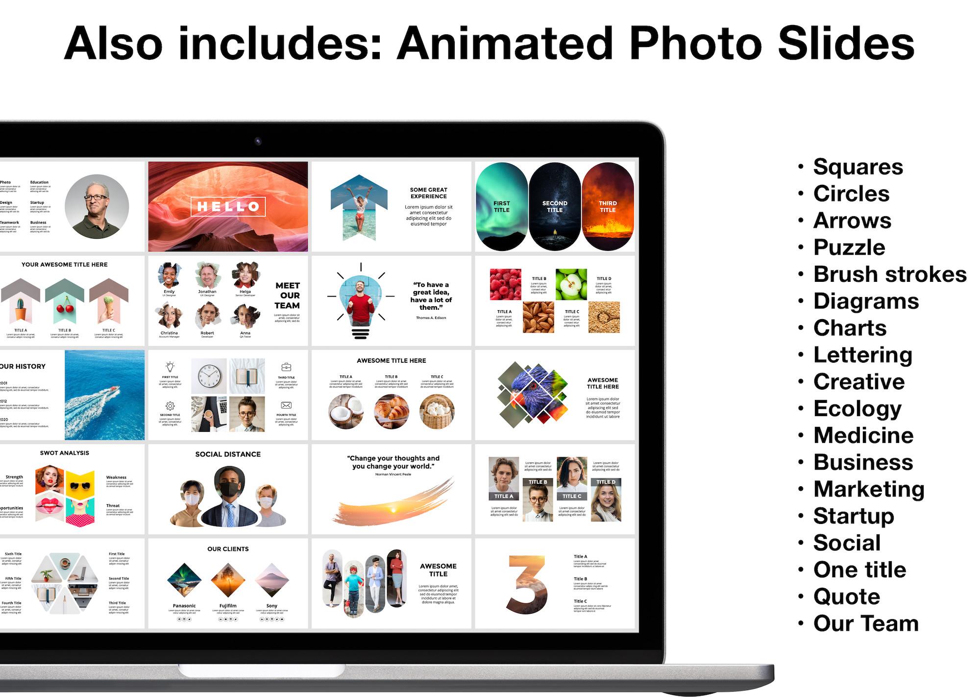Huge Infographics Bundle! Lifetime Updates! PowerPoint, Photoshop, Illustrator. - 5