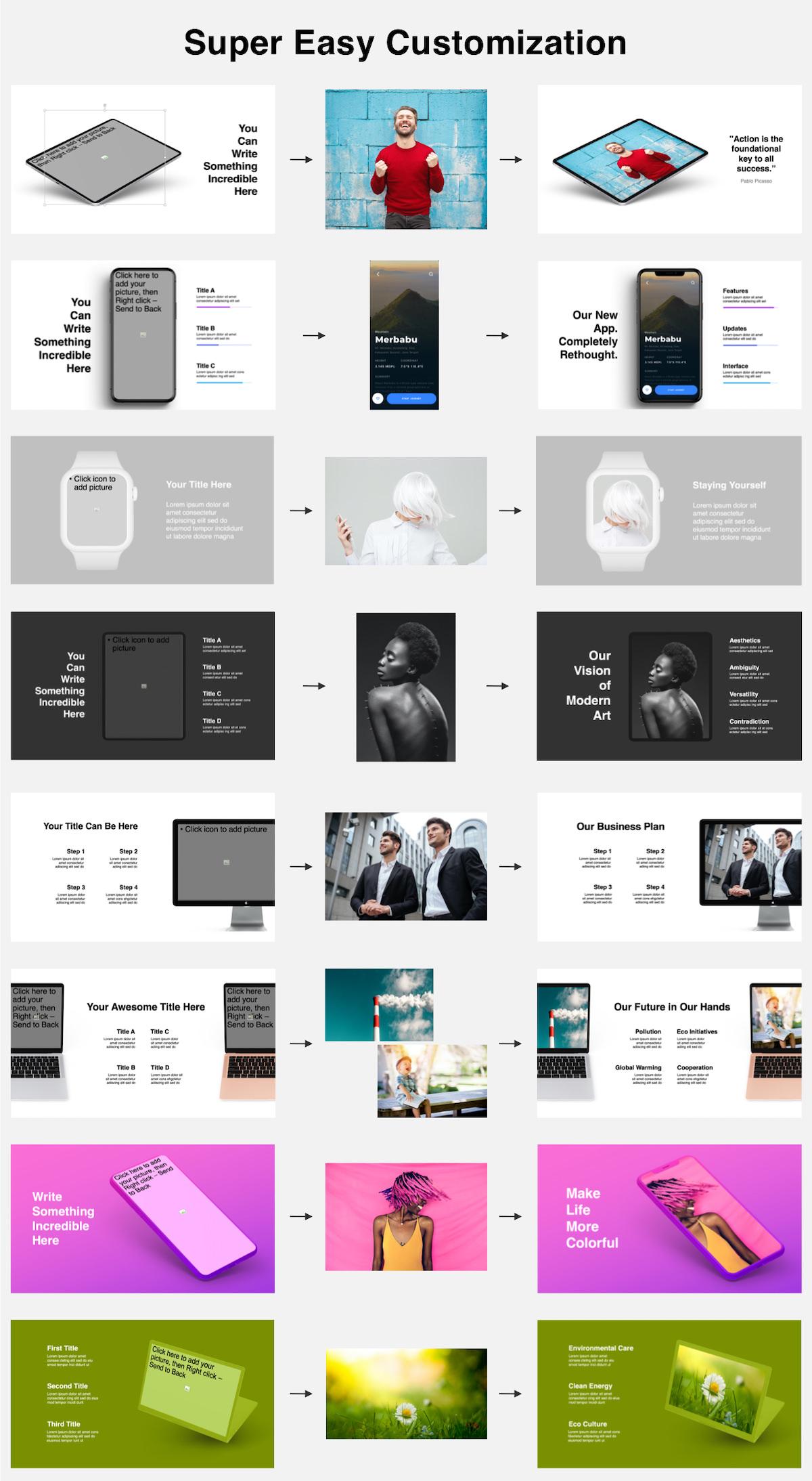 Huge Infographics Bundle! Lifetime Updates! PowerPoint, Photoshop, Illustrator. - 168