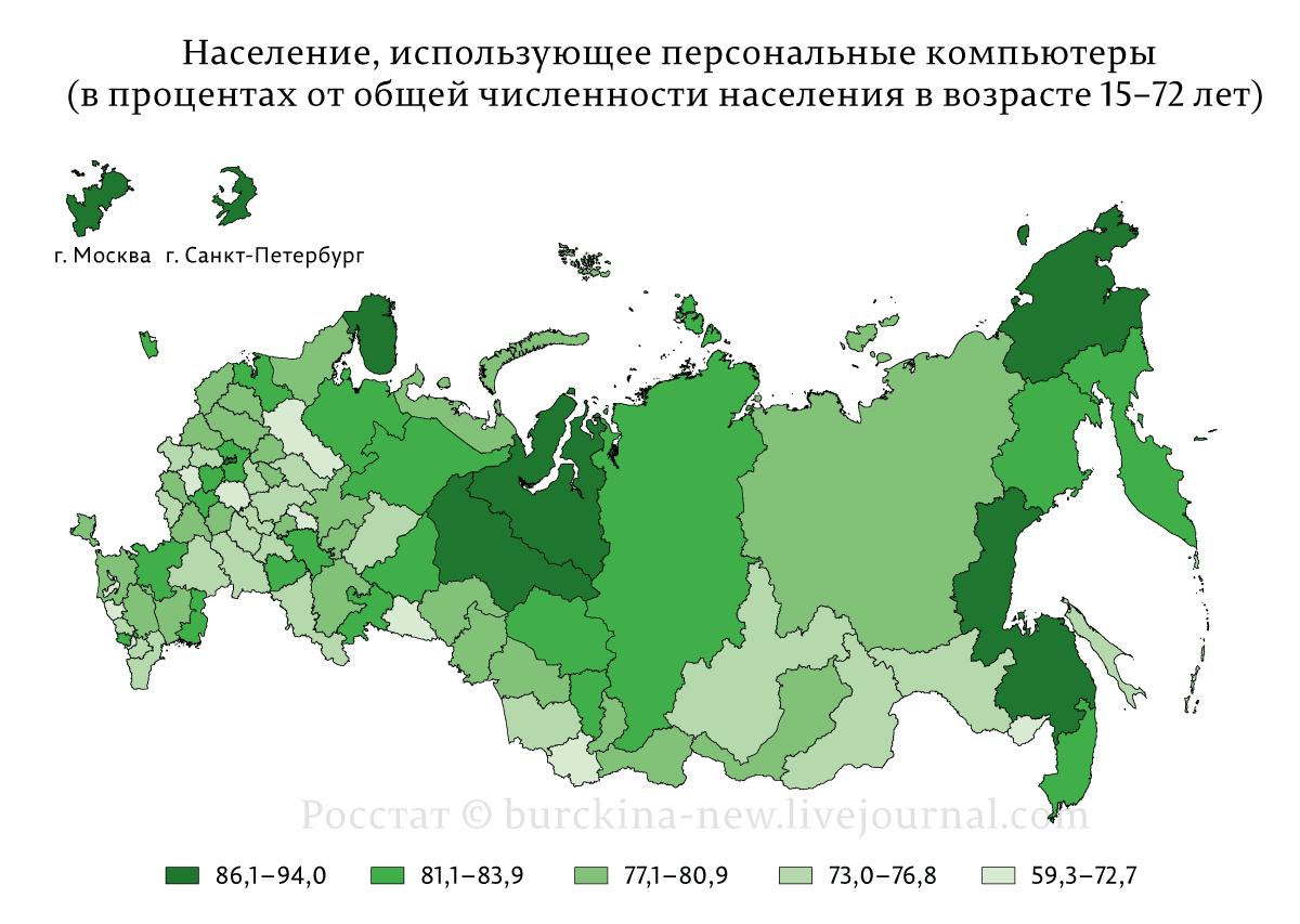 Информационно-цифровая среда в России