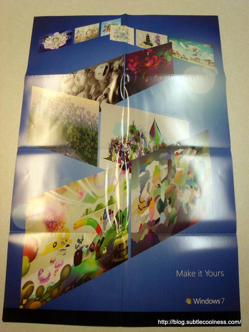 Windows 7 Poster