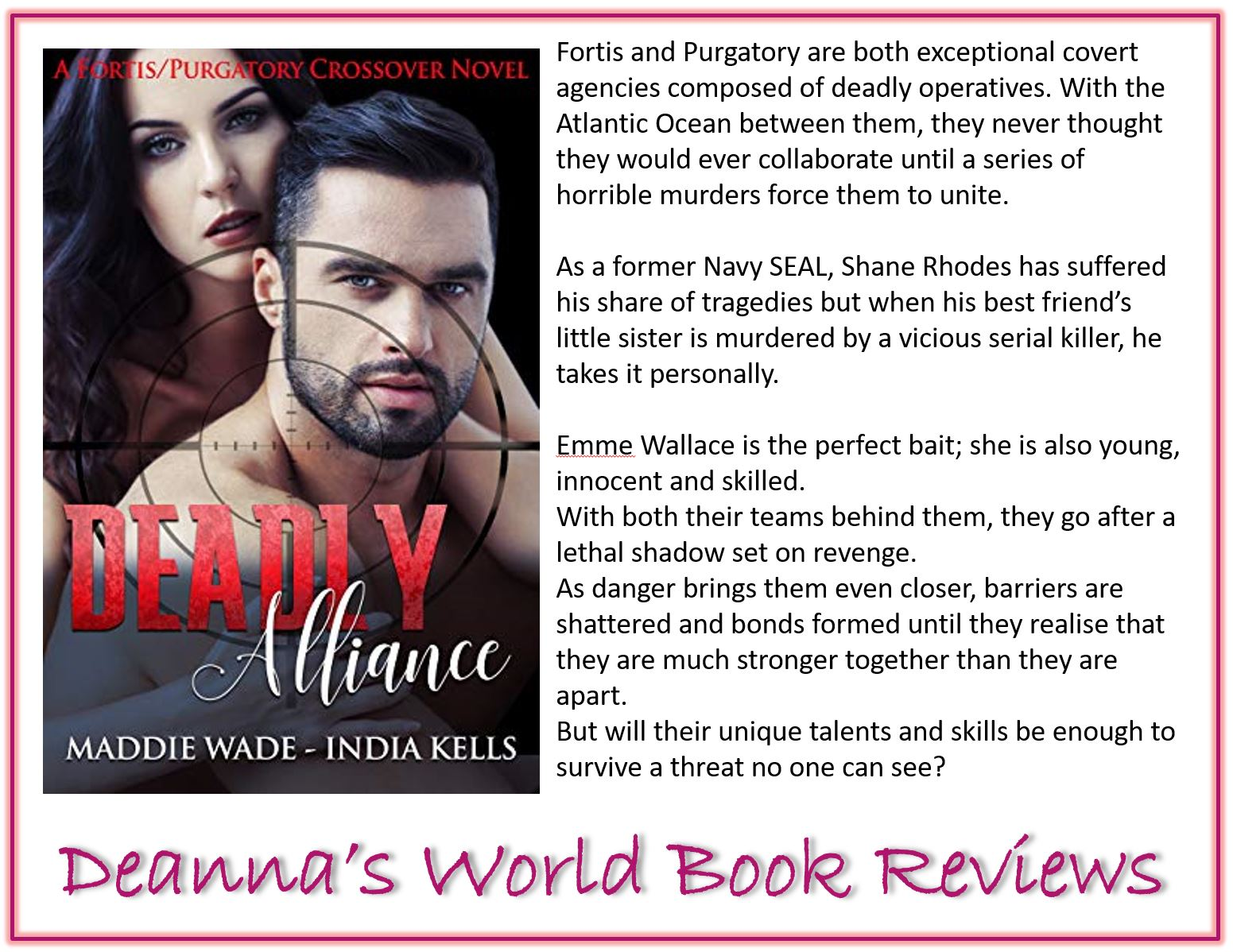 Deadly Alliance by Maddie Wade and India Kells blurb