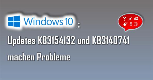 Auch bei Windows 10 gibt es hin und wieder - wie bei jedem anderen Windows-System vorher - Probleme und Fehler.