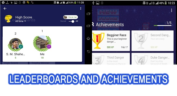 Danger Race + leaderboard + Admob + Social Share - 5