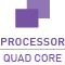 In diesem Einsteiger-Gerät ist ein Quad Core Prozessor verbaut.