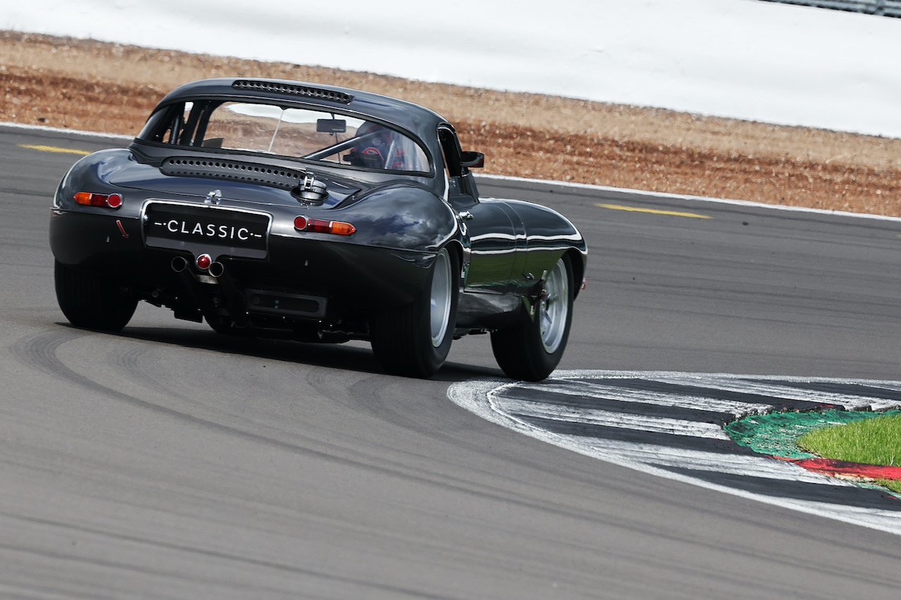 Martin and Alex Brundle to race Jaguar E-type at The Classic