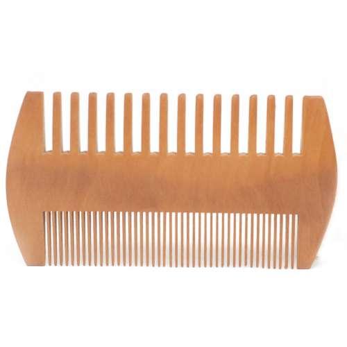 beard combs - two sided