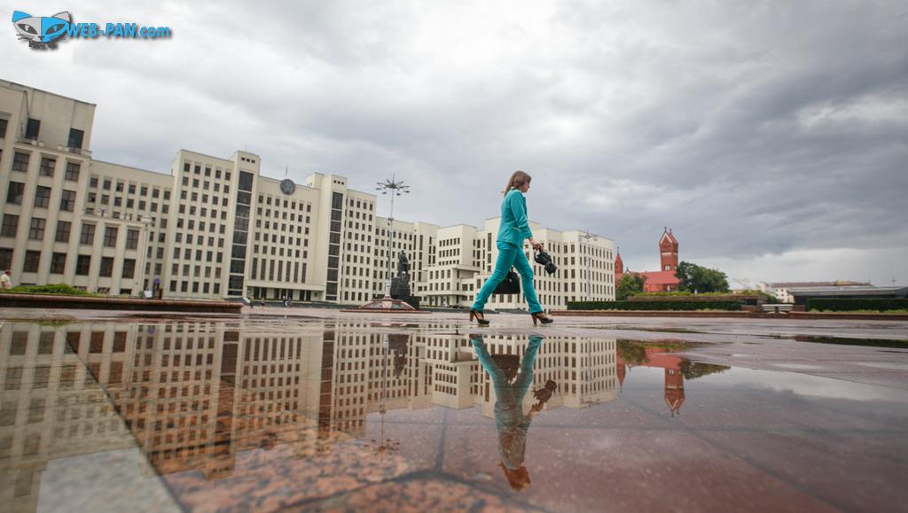 Погода в Минске швах, то дожди, то солнце - непонятно всё!