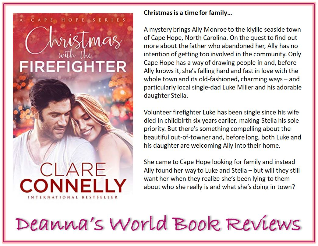 Christmas with the Firefighter by Clare Connelly blurb