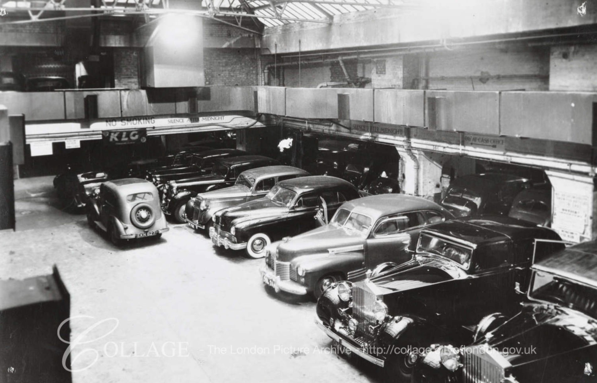 London Collage Archive a treasure trove for classic car fans