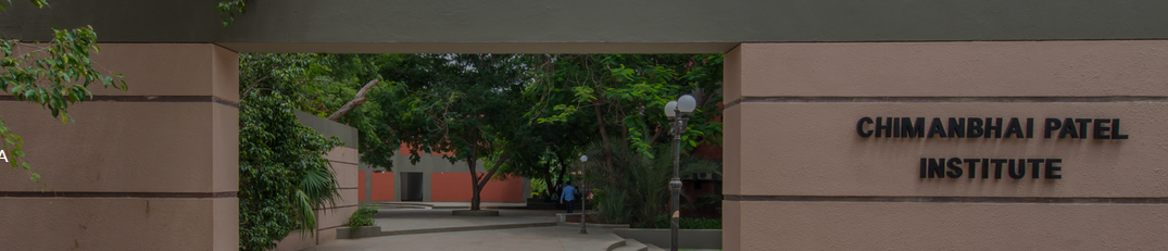 Chimanbhai Patel Institute of Business Administration, Ahmedabad