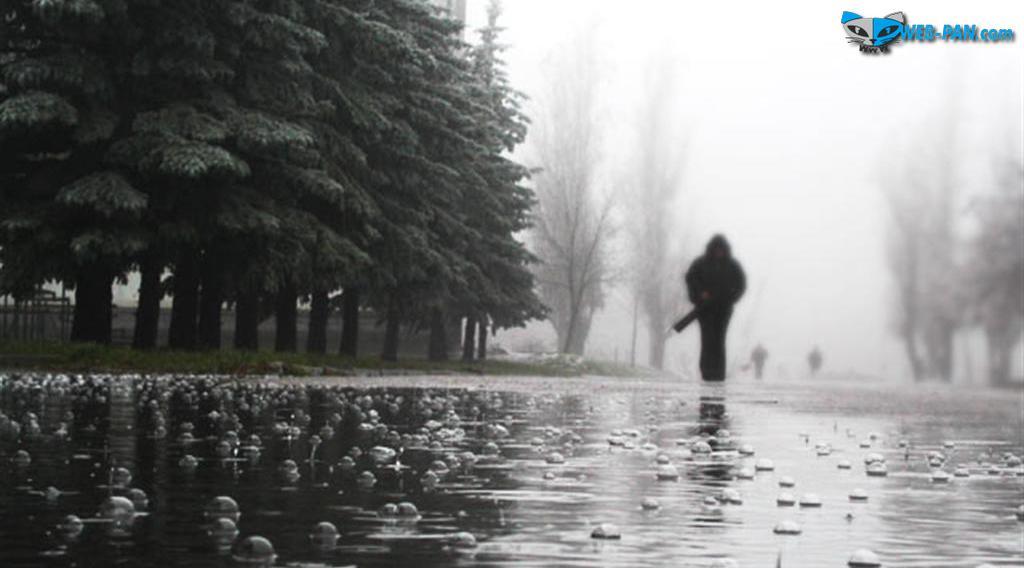 Холодно и зябко, дождь не переставая, на улице - спать хочется сильно очень!..