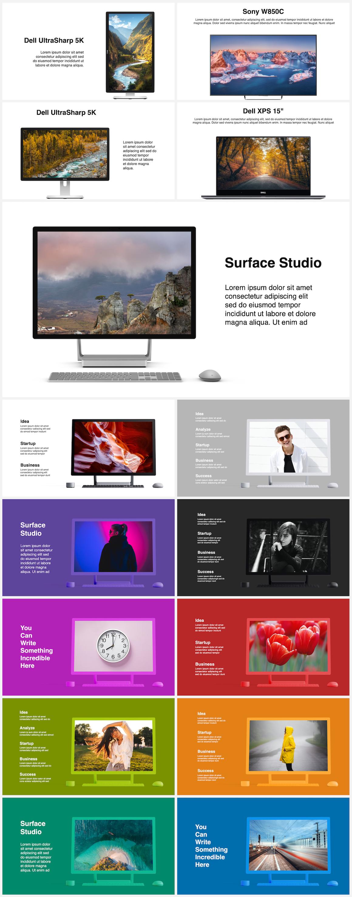 Huge Infographics Bundle! Lifetime Updates! PowerPoint, Photoshop, Illustrator. - 67