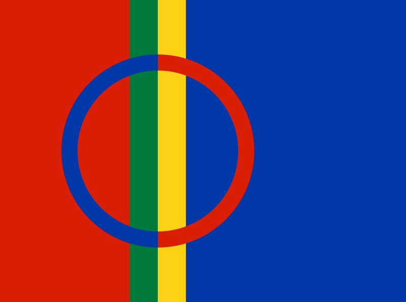 Bandera de Saami