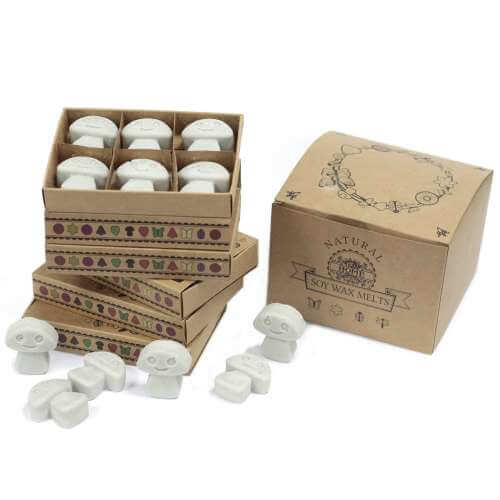 soy wax melts in gift box - dark patchouli