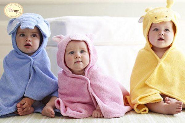 Khăn choàng tắm trẻ em