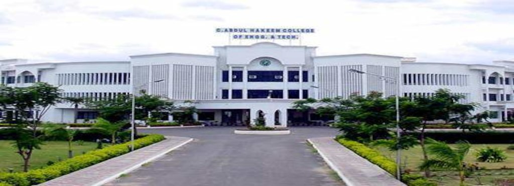 C. Abdul Hakeem College of Engineering and Technology, Vellore