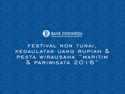 Festival Kedaulatan Uang Rupiah Bank Indonesia