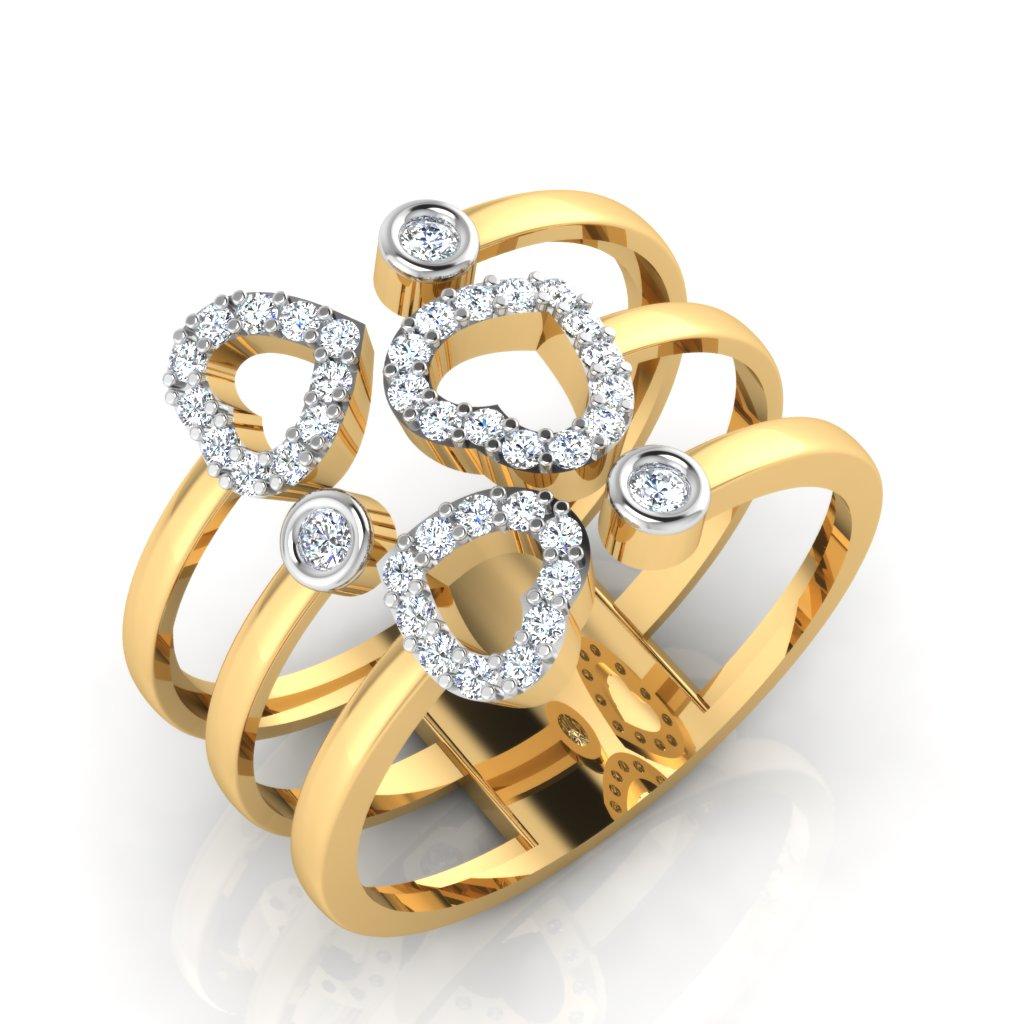 The Lizandra Diamond Ring