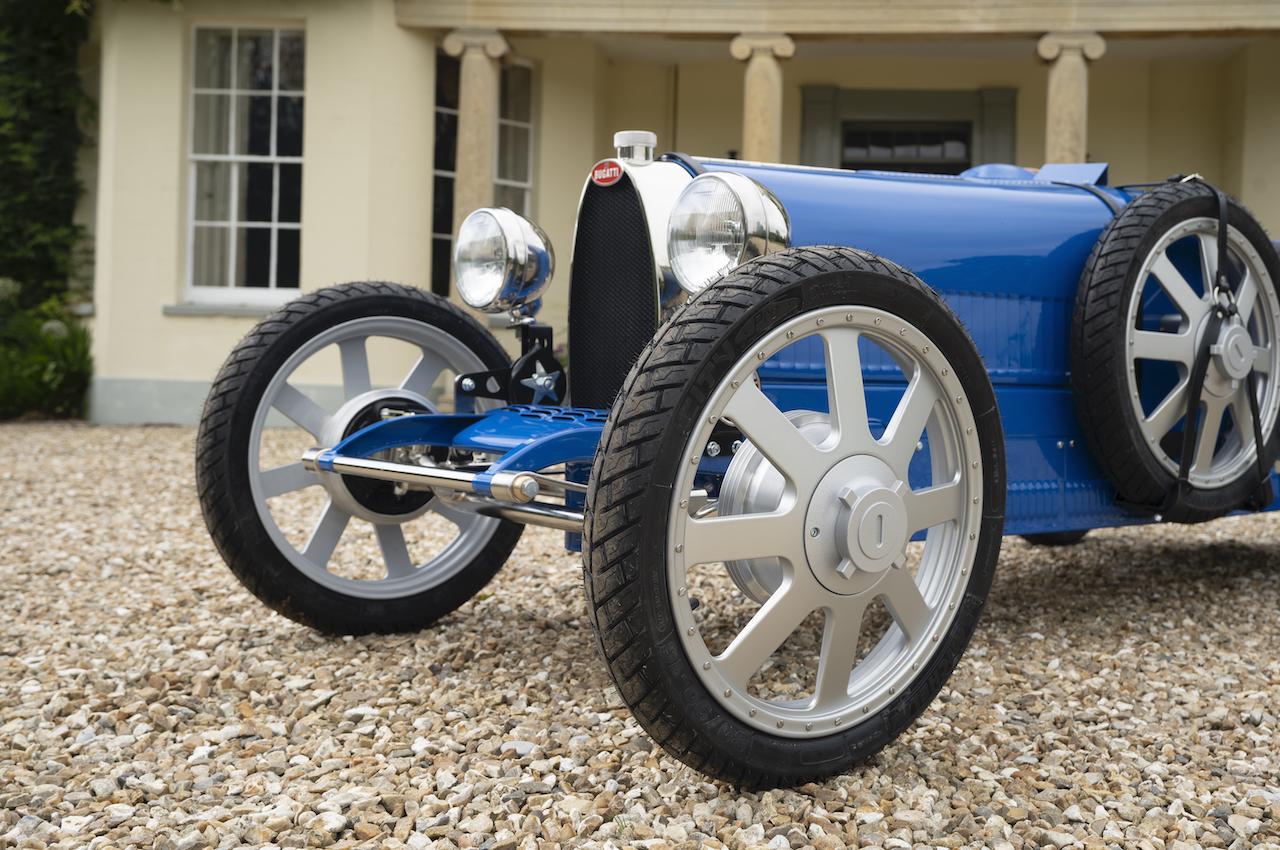 Bugatti Baby II Revealed at Bugatti's 110th Anniversary