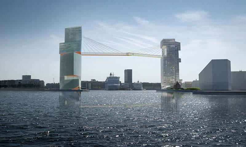 Copenhagen glass-walled bicycle bridge plans abandoned
