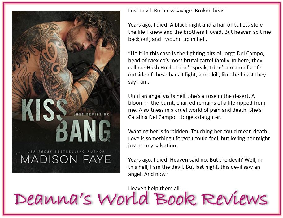 Kiss Bang by Madison Faye blurb