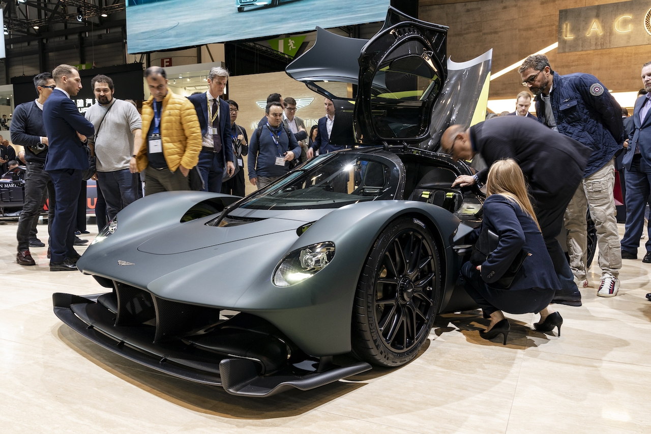 Aston Martin lights up Geneva Motor Show