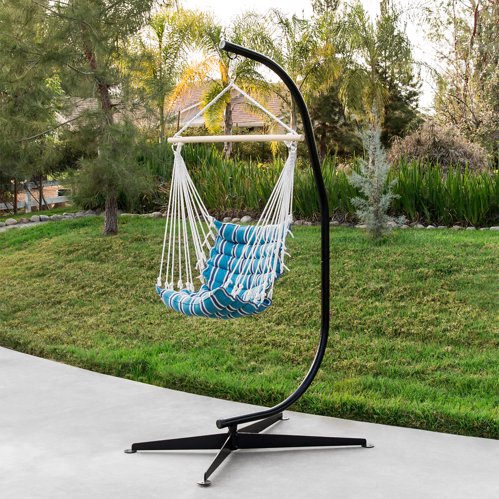 Hammock Chair C Stand Solid Steel For Hammock Air Porch ...