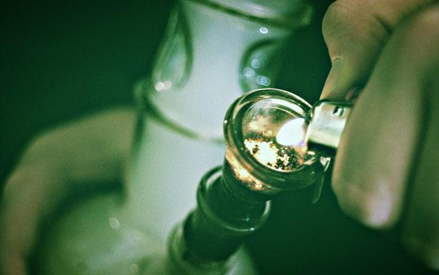 skutki palenia marihuany - fajka wodna