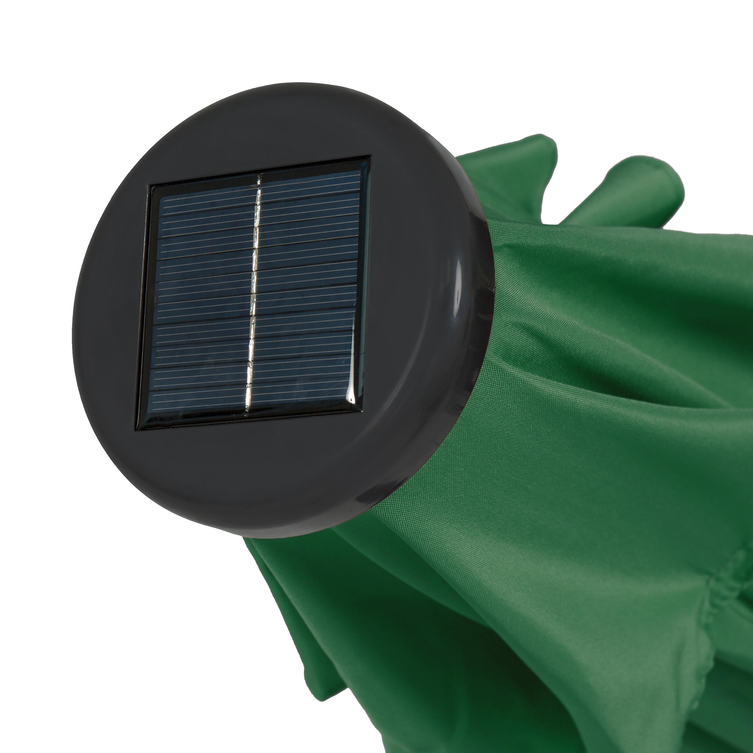 Portable Power Bank BCP 10ft Solar Patio Umbrella w// USB Charger