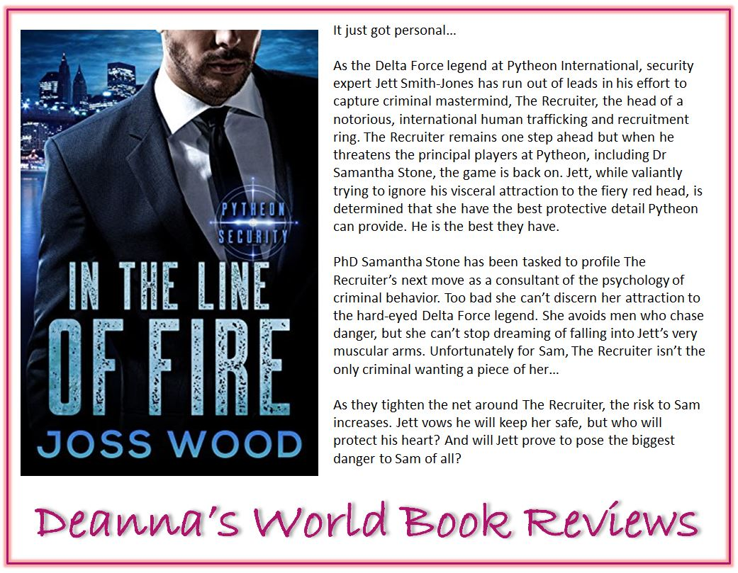 In The Line of Fire by Joss Wood blurb