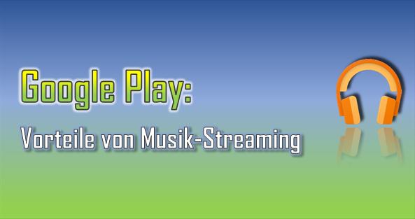 Mit Google Play Music kann man auch unterwegs immer und überall Musik anhören und aus tausenden Titeln wählen.