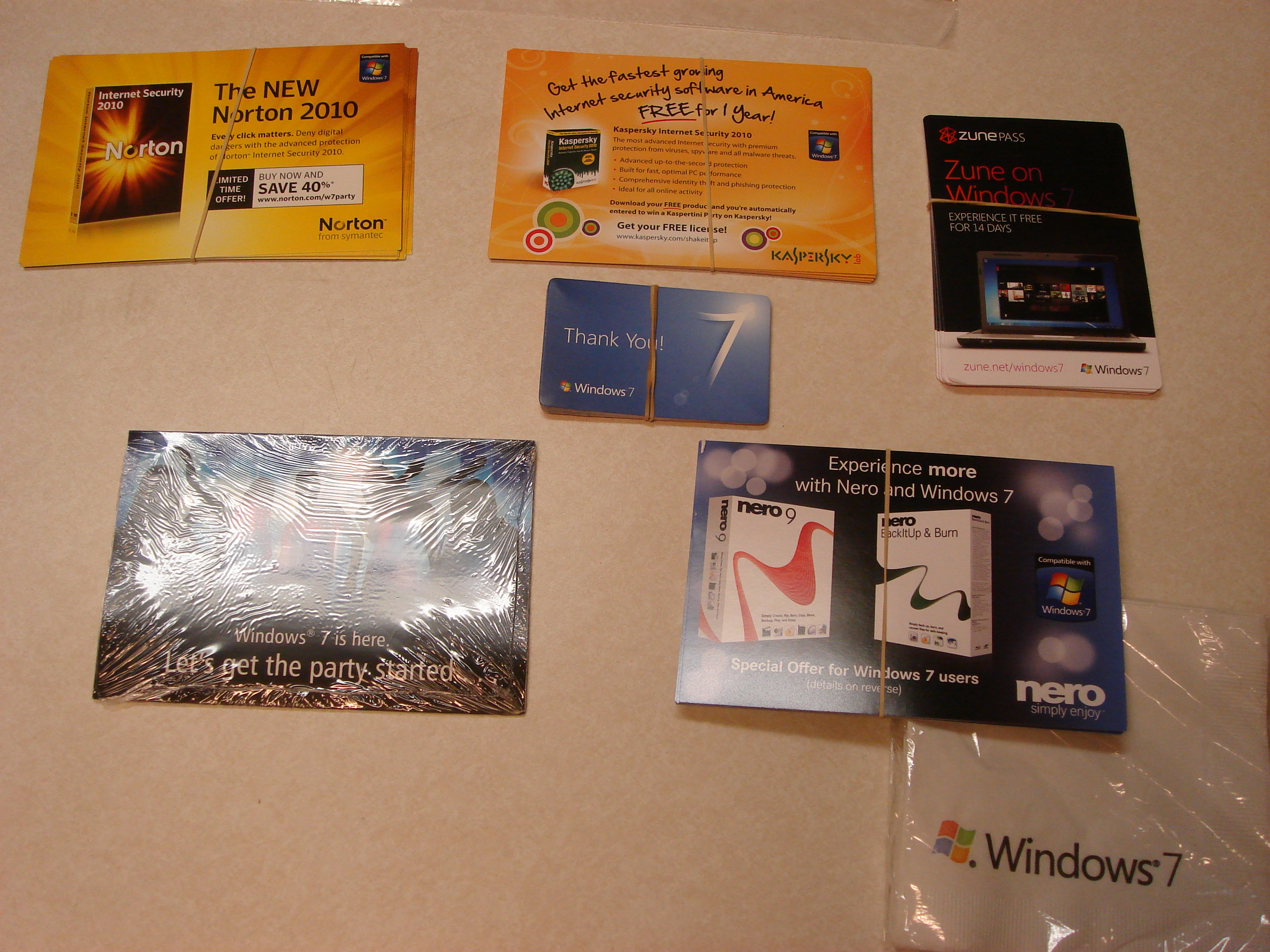 Windows 7 Promotional Offers