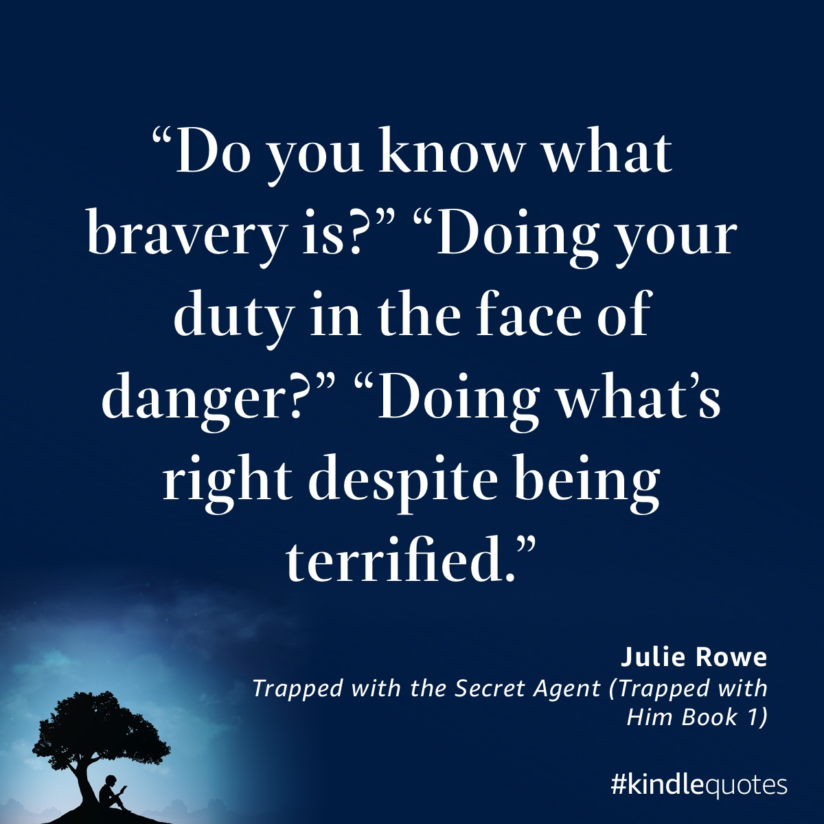 Book quote Julie Rowe