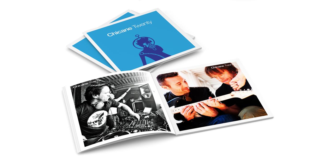 Chicane - Twenty CD Booklet