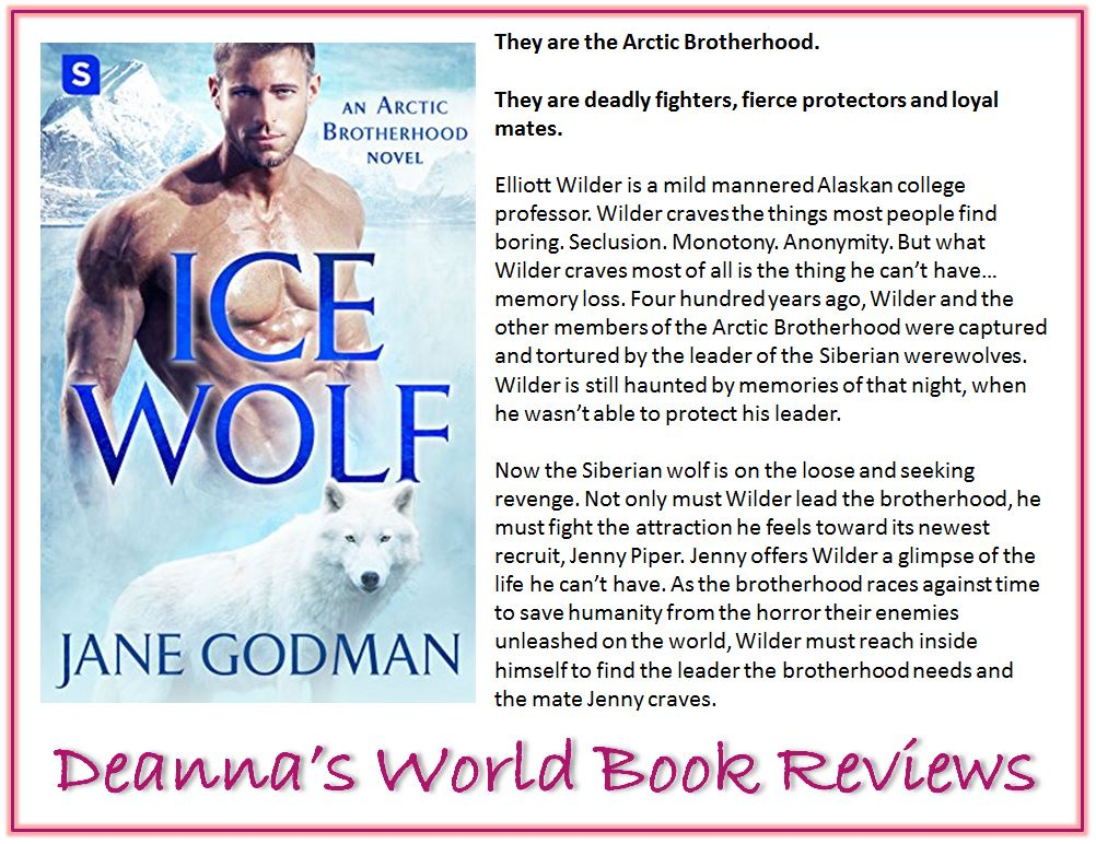 Ice Wolf by Jane Godman blurb