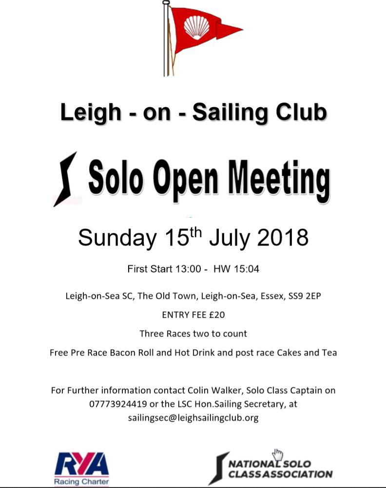 Solo Open 2018