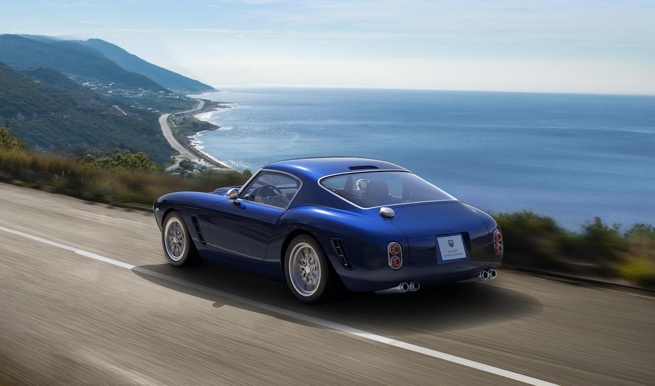 RML unveils new Ferrari powered Short Wheelbase GT