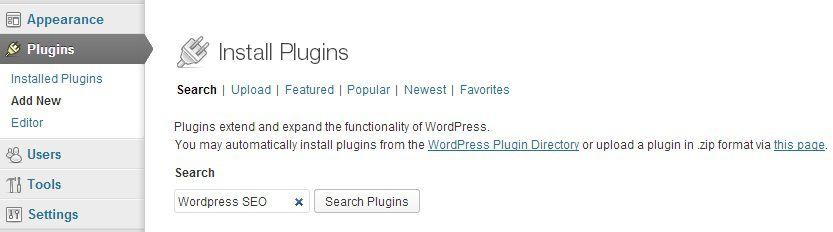 Tìm kiếm Plugins