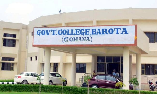 Government College Barota (Gohana), Sonipat