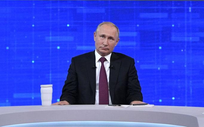 Россияне поставили Путину жирный дизлайк