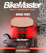 Rear Brake Pads BikeMaster Yamaha YXR660F Rhino 660 2004 2005 2006 2007