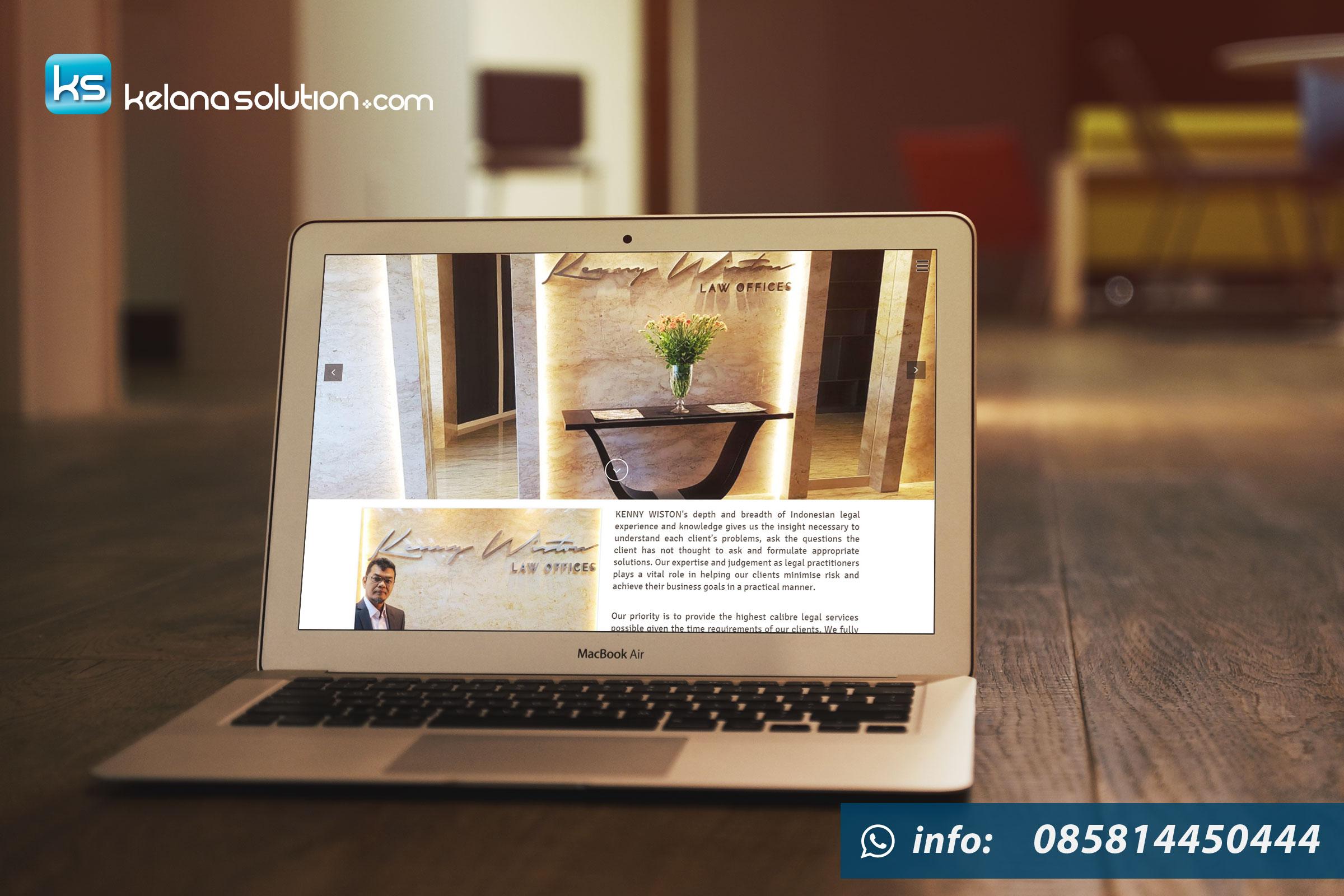 Jasa Pembuatan Website Law Firm, Law Office, Advokat, Lawyer, Pengacara