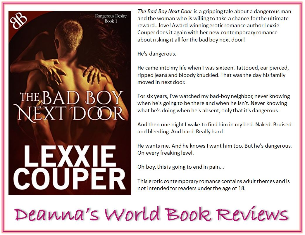 Dangerous Desire series by Lexxie Couper blurb