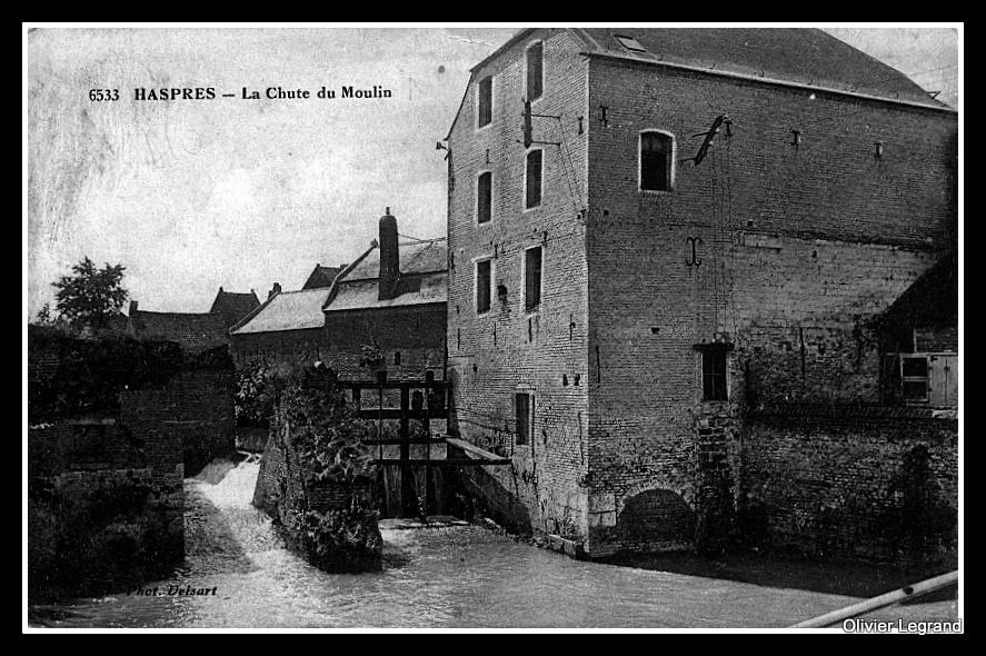 Haspres - Le moulin