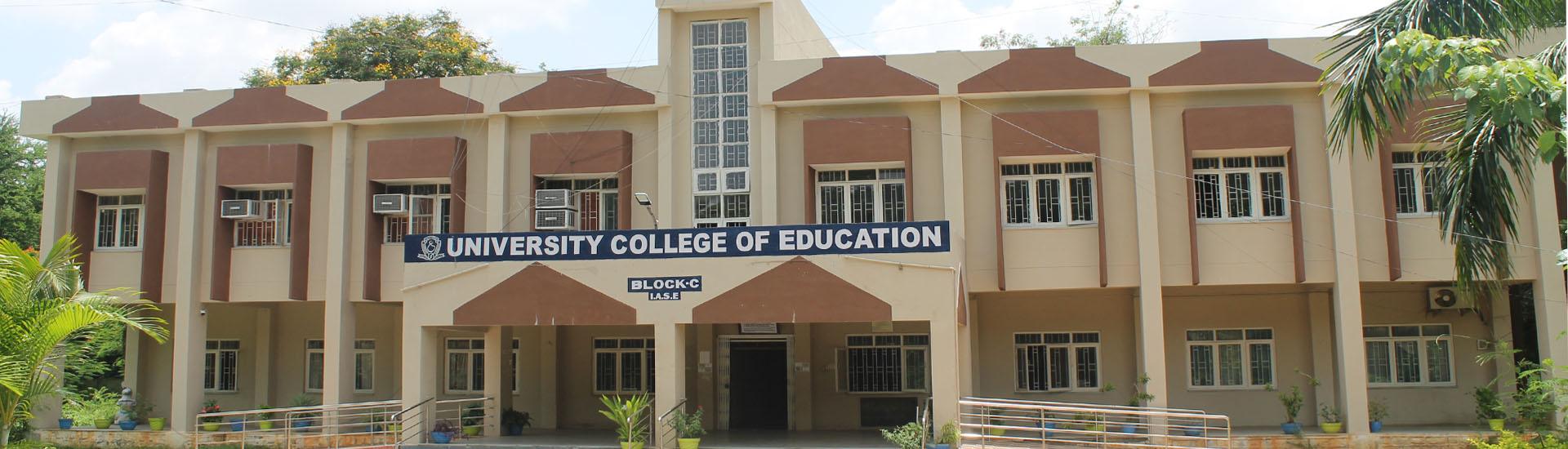 College of Education, Osmania University, Hyderabad