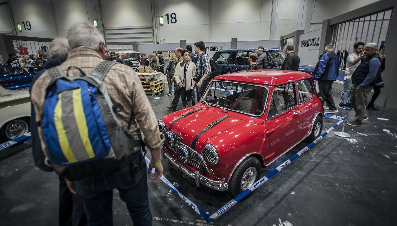 Full throttle for The London Classic Car Show