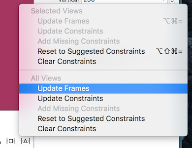 Update Frames